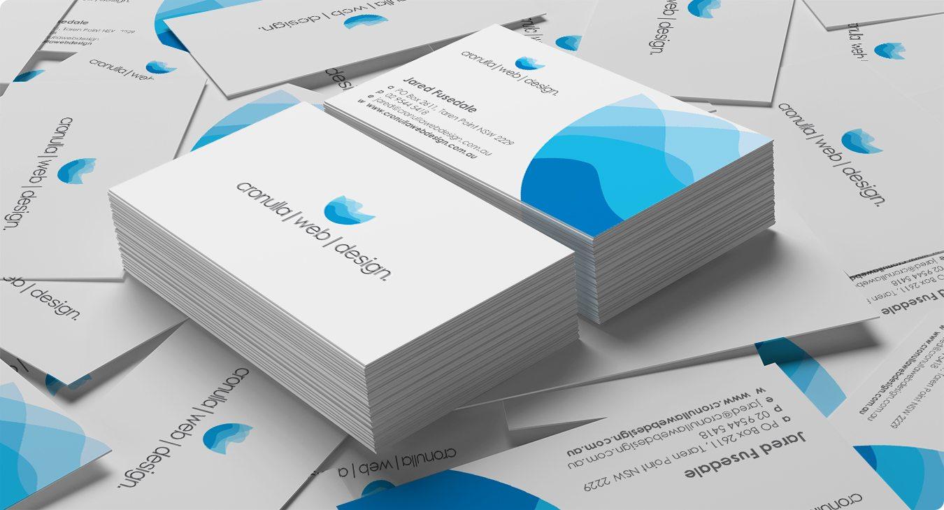 Cronulla Web Design - Business Card Design