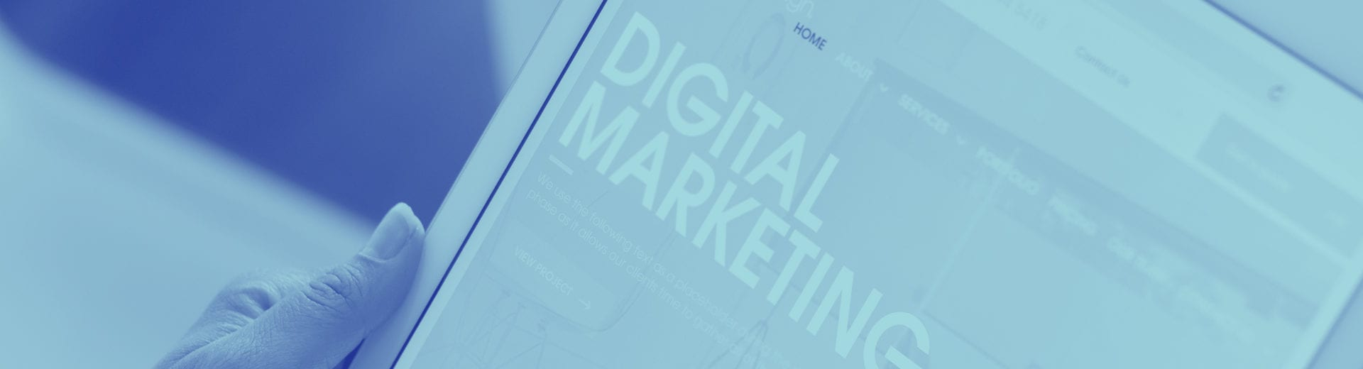 Digital Marketing IPad