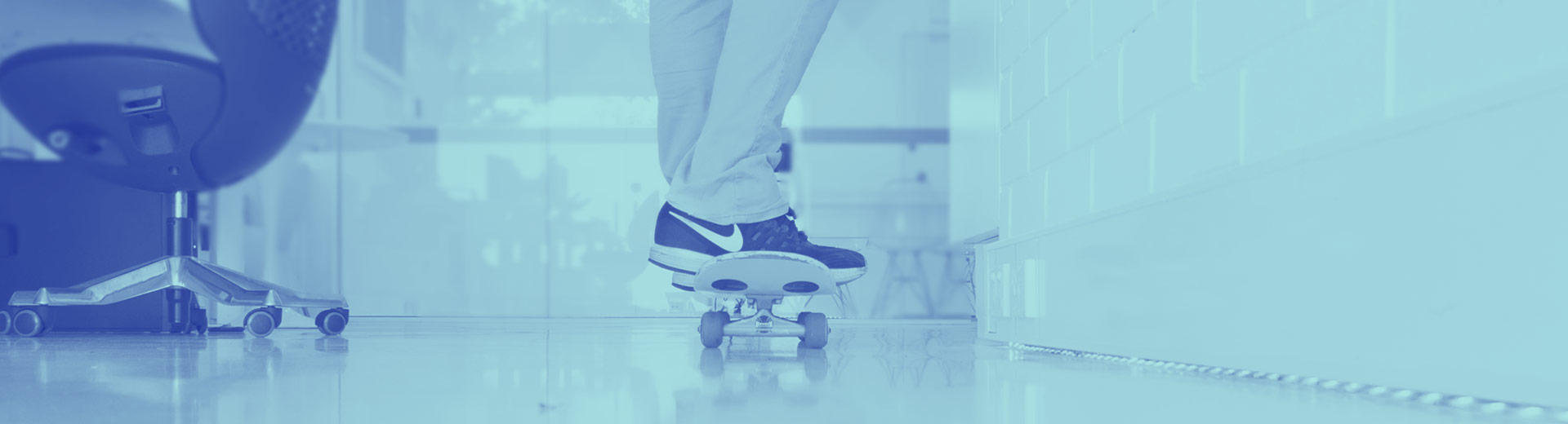 Skateboard in Cronulla Web Designs Office