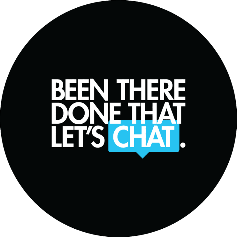 Been There Done That Let's Chat Graphic Design