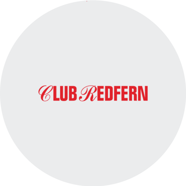 Club Redfern Brand Design