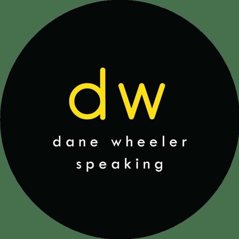 Dane Wheeler Speaking Logo Design
