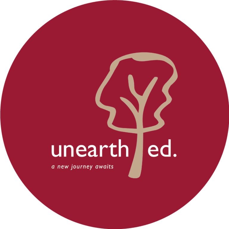 Unearthed Logo Branding