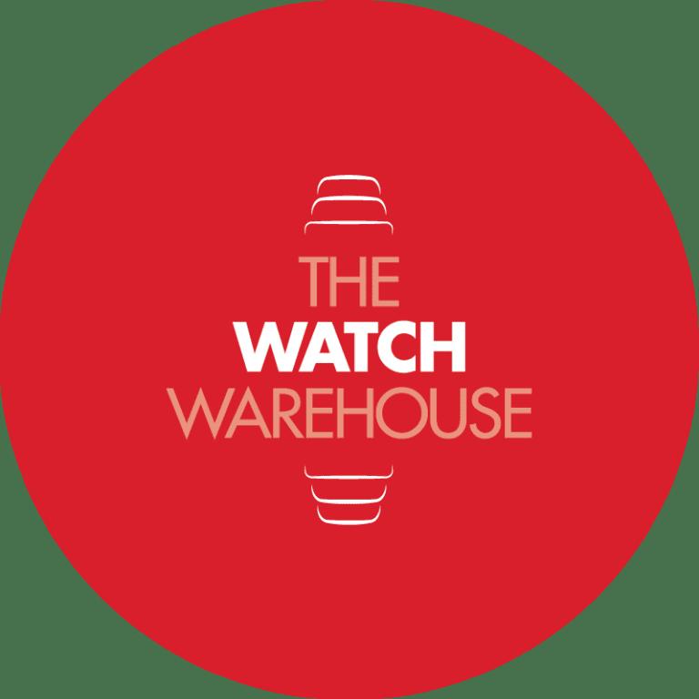 watch warehouse logo design